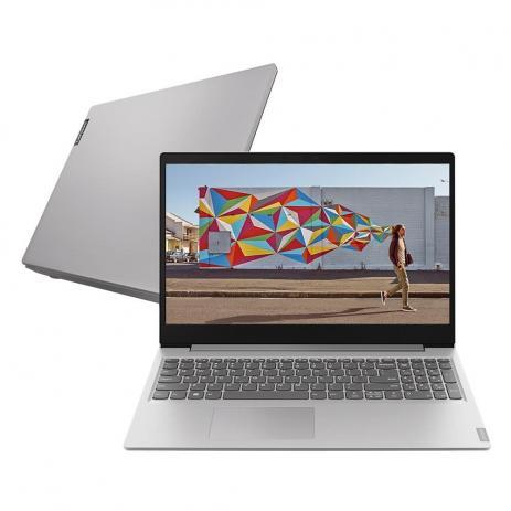 "Notebook Lenovo Ideapad S145 Intel Celeron N4020 Memoria 4gb Ssd 120gb Tela 15,6"" Sistema Linux"