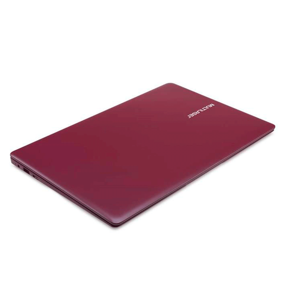 "Notebook Multilaser Pc133 Legacy Atom Z8350 Ram 2gb Hd 32gb 14"" Windows 10 Home Vermelho"
