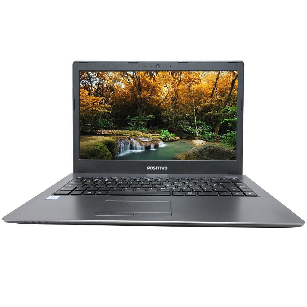 "Notebook Positivo Master N3140 Intel Core I3-7100u Memória 8gb Ddr4 Ssd 120gb Tela 14"" Hd Led Sistema Windows 10 Pro"