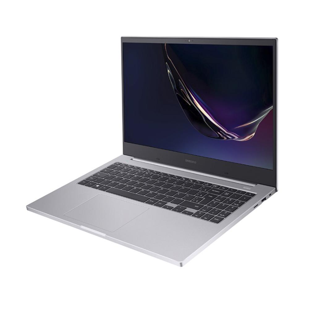 Notebook Samsung Book E20 Np550 Celeron 5205u Memoria 8gb Hd 500gb Ssd 256gb Tela 15.6' Hd Windows 10 Home Prata