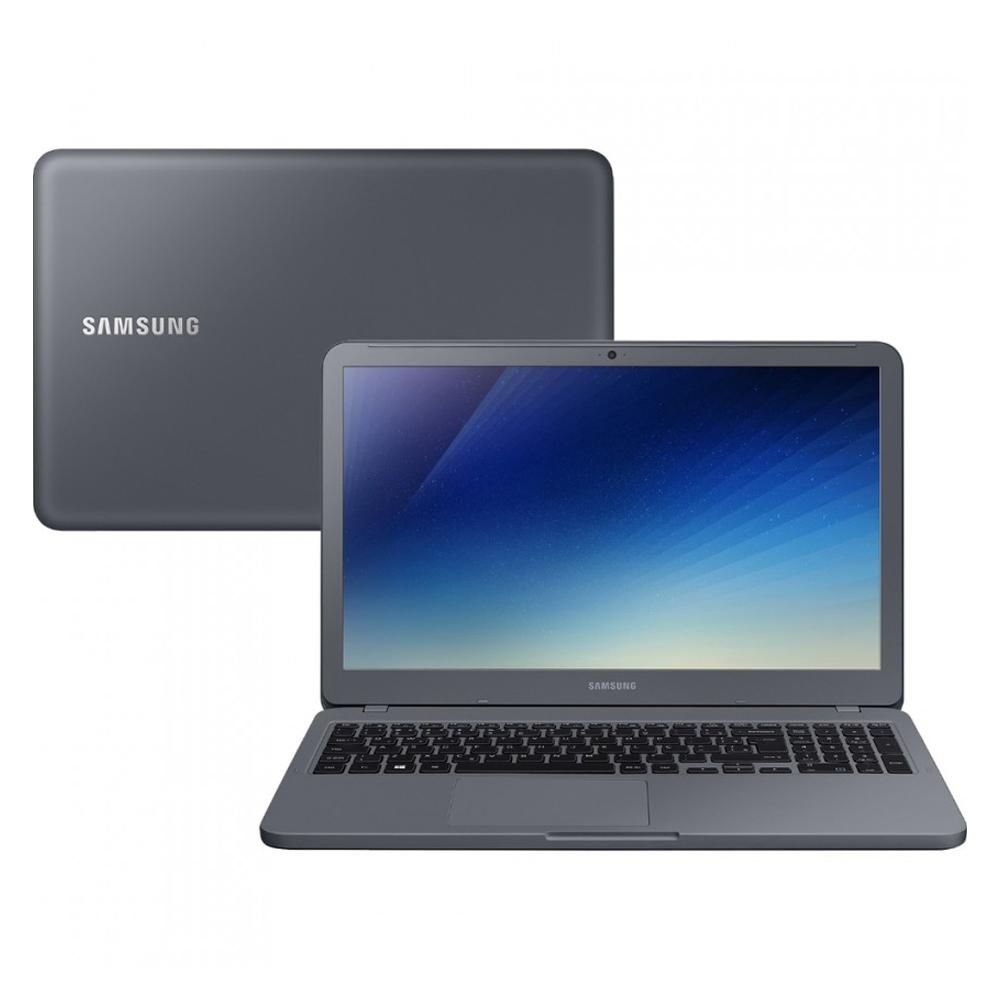 Notebook Samsung Expert X20 Np350 Core I5 8265u Memoria 16gb Ssd 120gb Tela 15.6' Fhd Titanium Sistema Windows 10 Home