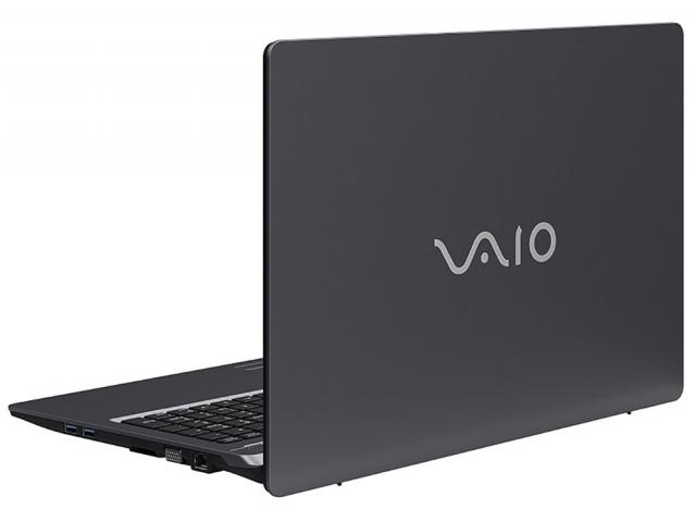 Notebook Vaio Fit 15S Core I3 6006U Memoria 4Gb Hd 1Tb Tela 15.6' Lcd Cor Chumbo Sistema Windows 10 Home
