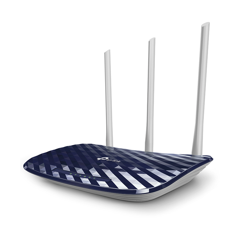 Roteador Wireless Tp-link 750mbps 3 Antenas C20w Ac750