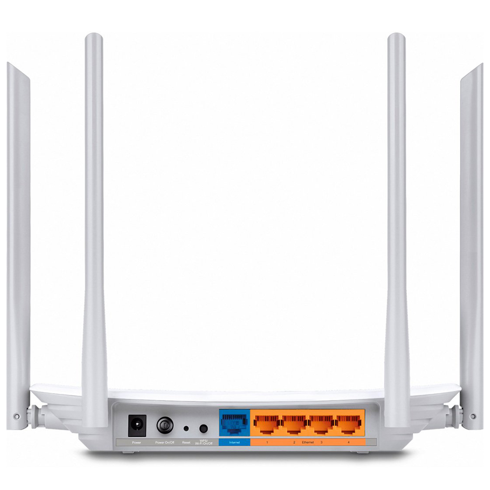 Roteador Wireless Tp-link Dual Band Ac1200 Archer C50 300 Mbps 4 Antenas