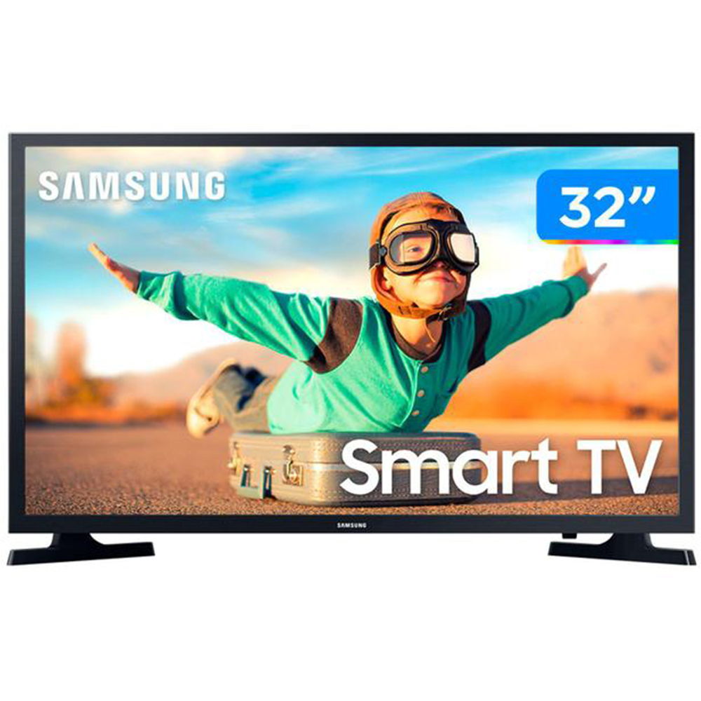 "Smart Tv Samsung Business 32"" Hd Led,  Hdmi, Usb, Wifi - Lh32benelgazd - Última Unidade"
