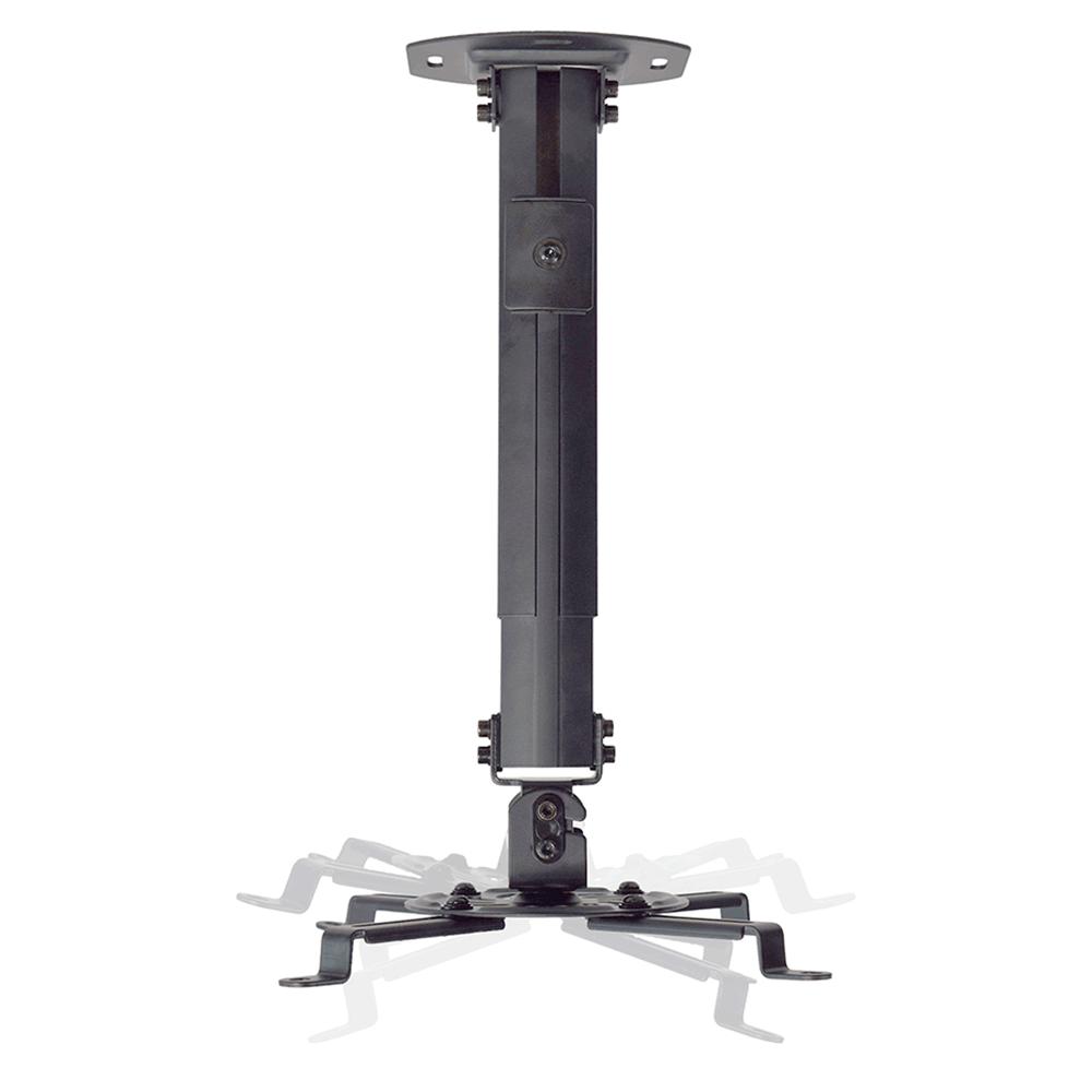 Suporte De Teto Para Projetor Até 13,5kg - Preto - Pro1100bl - Elg