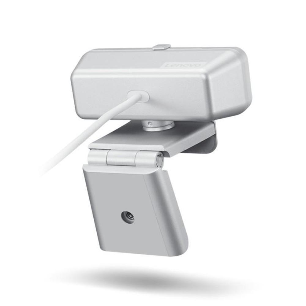 Webcam Lenovo 300 Full Hd Com 2 Microfones Integrados 1080p 30fps Usb Gxc1b34793