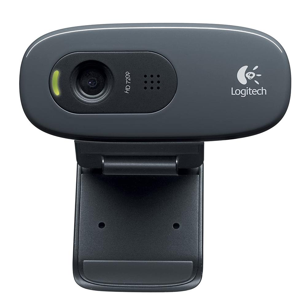Webcam Logitech C270 720p Preta