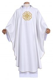 Casulla Igreja Santa CS075