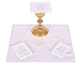 Conjunto Paños de Altar Lino Cordero B008