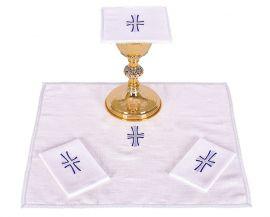 Conjunto Paños de Altar Lino Cruz B011