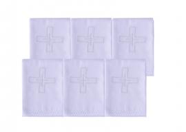 Sanguíneo para la distribución de la Eucaristía en algodón con 6 unidades SA193