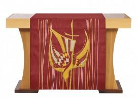 Paño de Altar Pentecostés Rojo S203