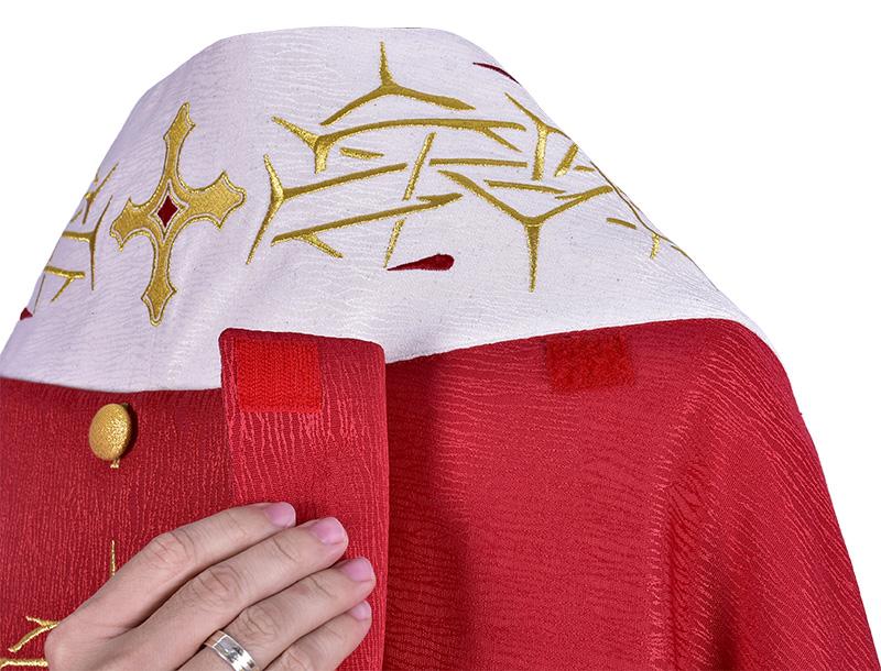 Capa de Asperges Cristo Rey CP515