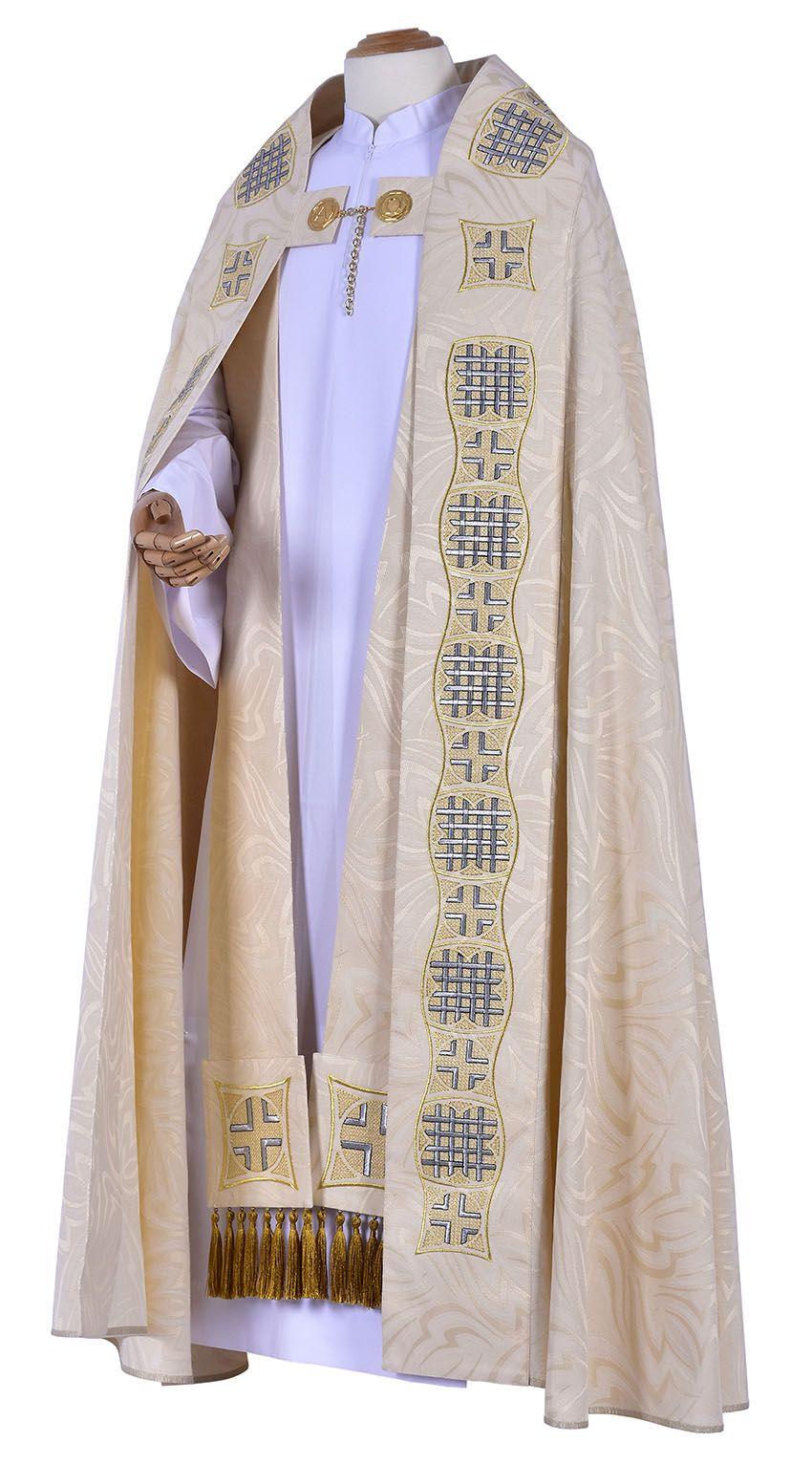 Capa de Asperges Leo Magno CP259