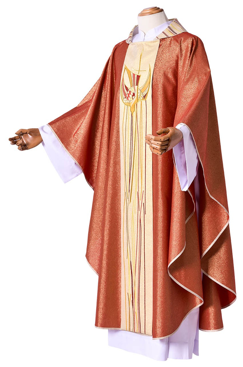 Casulla Pentecostes CS081