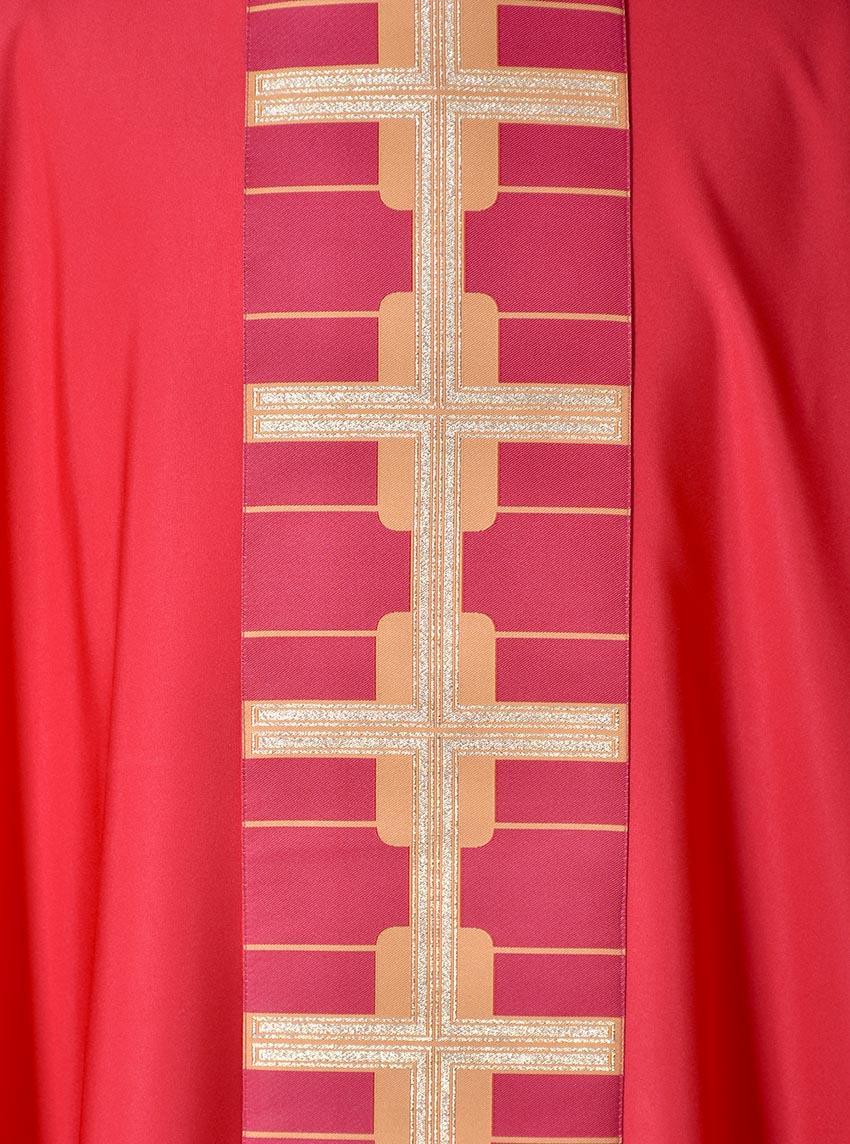 Casulla Venecia Medalla Cruz CS037