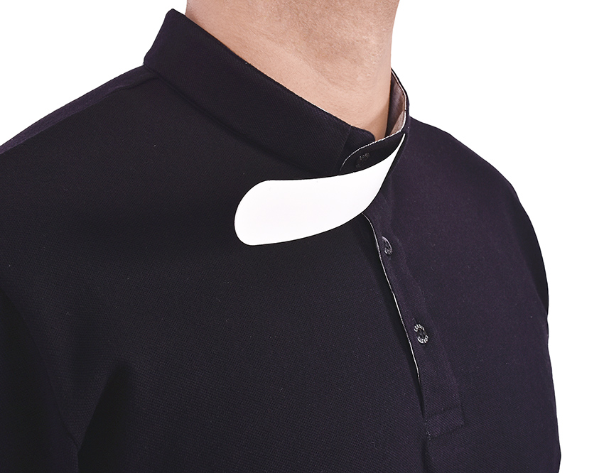 Clerical Polo Negro PL001