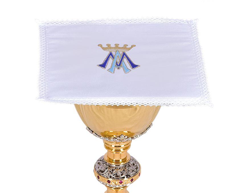 Conjunto Paños de Altar Algodón Mariano B001