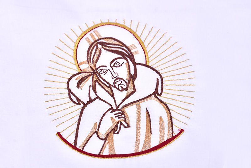 Conjunto Paños de Altar Algodón Buen Pastor CA105