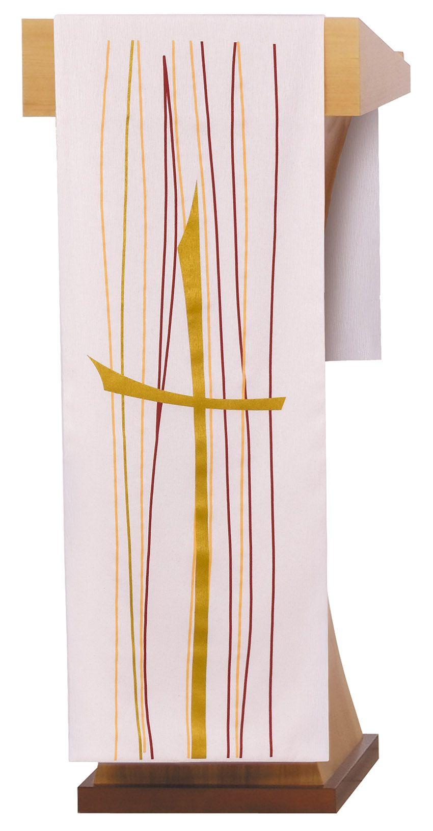 Paño de Altar y Atril Pentecostés Beige S202 S203
