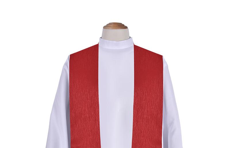 Estola Sacerdotal Capa de Asperges Cristo Rey CP715