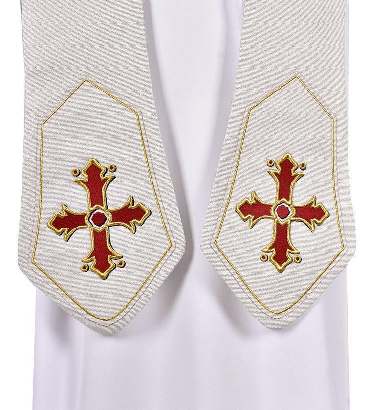 Estola Sacerdotal Capa de Asperges Pontifical ES255
