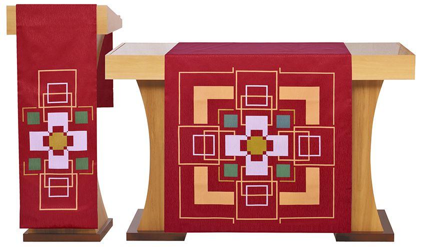 Paño de Altar y Atril Cruz S196 S197