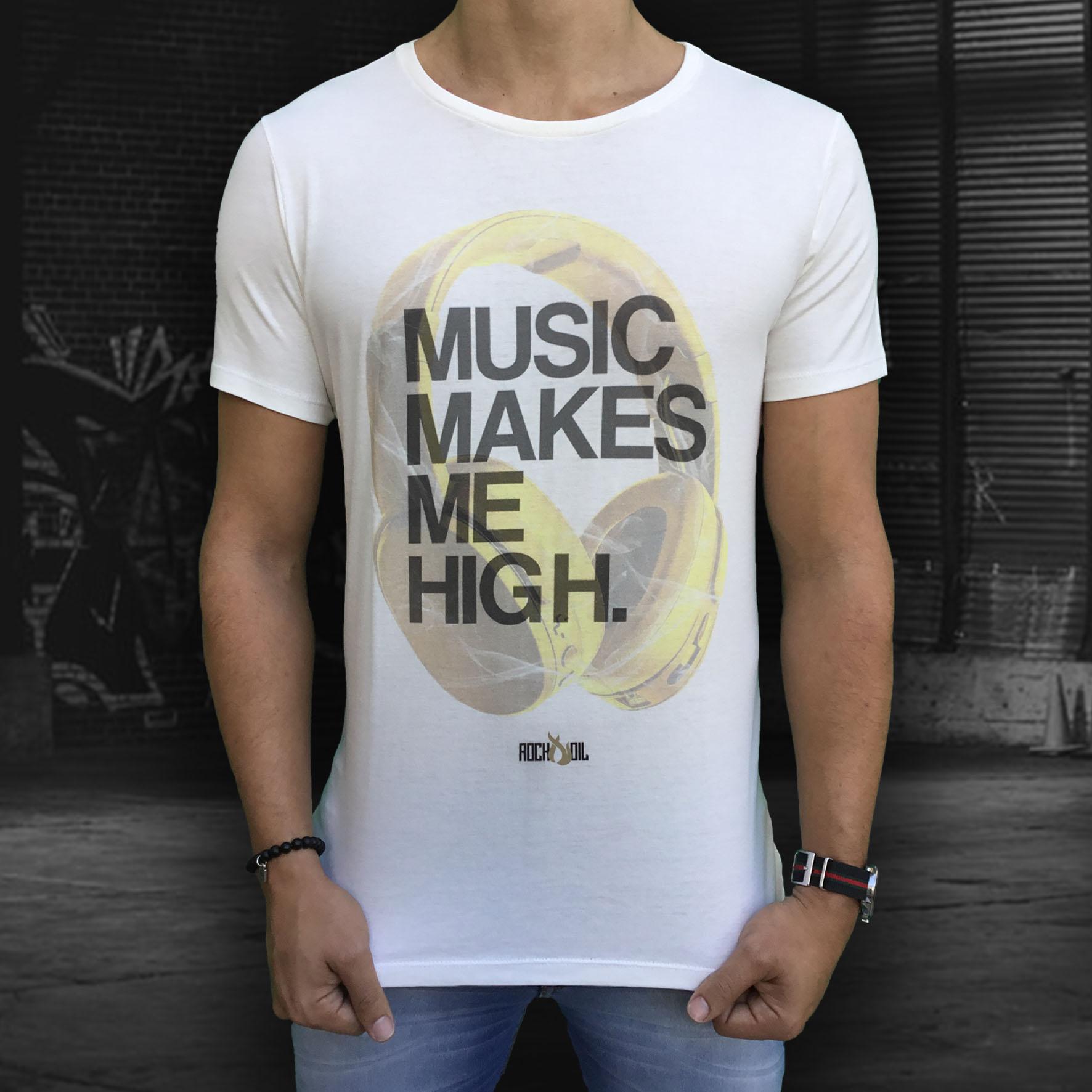Camiseta Gold Headset