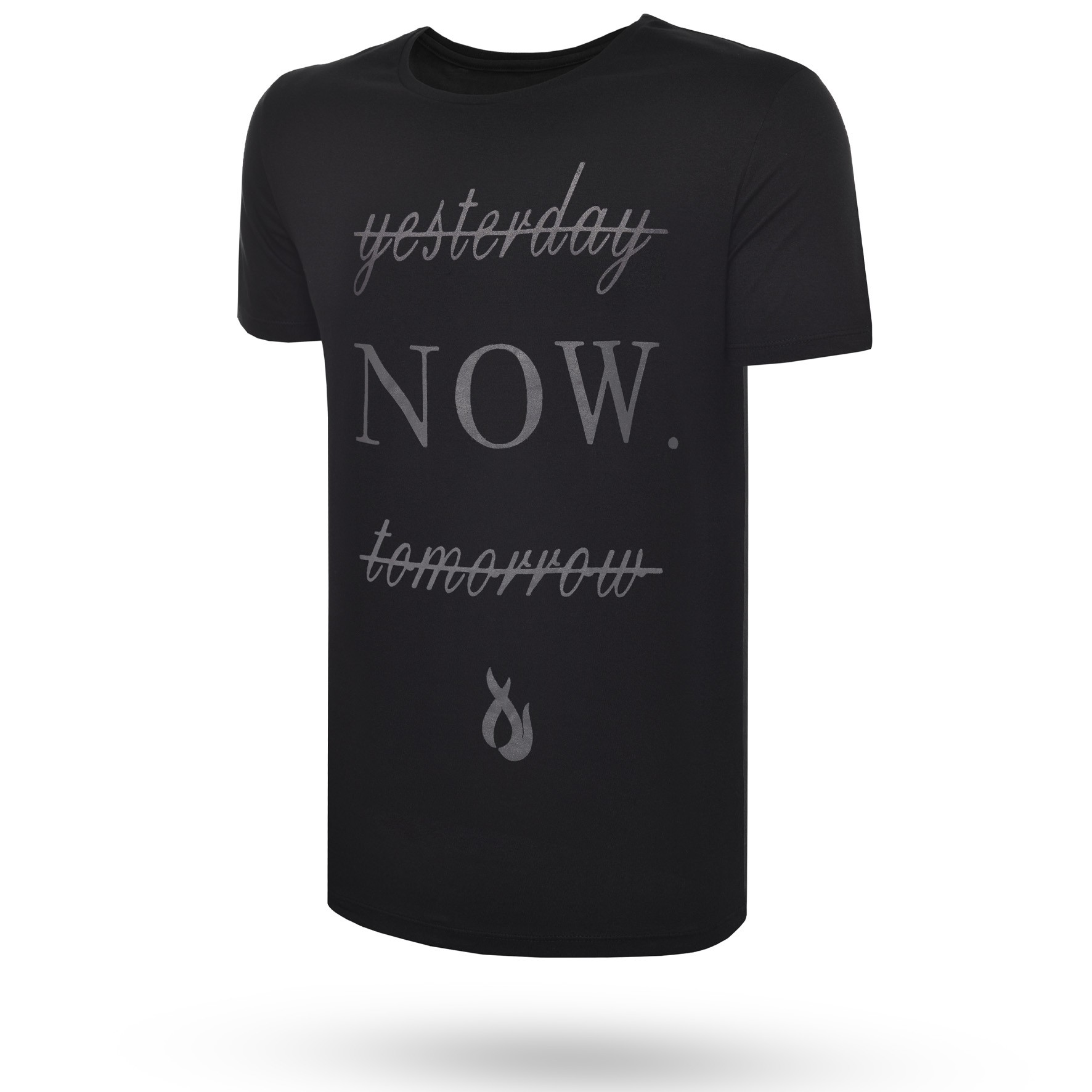 Camiseta Now Total Black