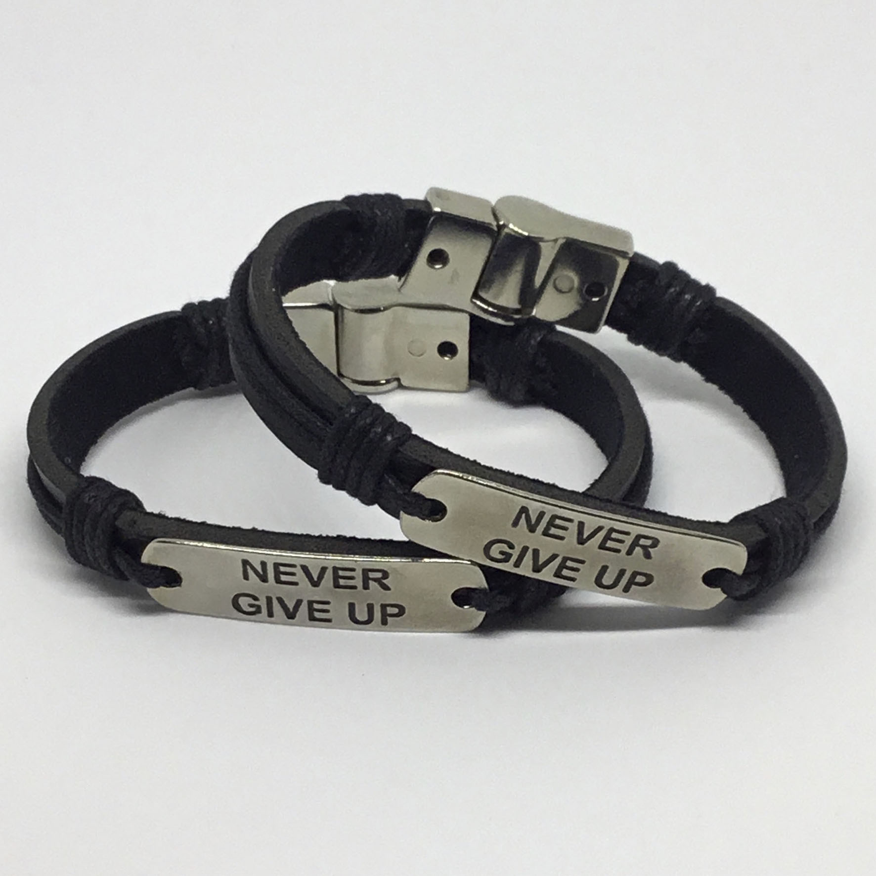 Pulseira Never Give Up