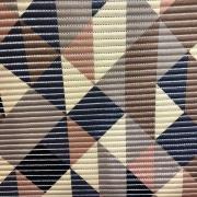 Tapete Passadeira Tropical Soft Metro 43cm Triangulos Color