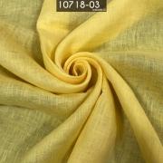 Tecido Cambraia de Linho 100% Linho Amarelo