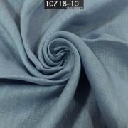 Tecido Cambraia de Linho 100% Linho Azul Serenity