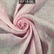 Tecido Cambraia de Linho 100% Linho Rosa bebe