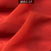 Tecido Musseline Toque de Seda Coral