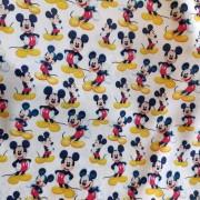 Tecido Crepe Zara Estampa Mickey