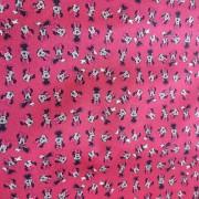 Tecido Crepe Zara Estampa Minnie 2