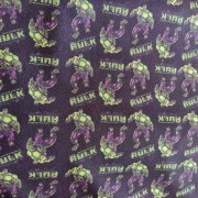 Tecido Crepe Zara Estampa Hulk
