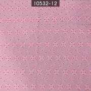 Tecido Laise A1089 Algodão Rosa