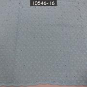 Tecido Laise A1137 Bordada Azul Bebe