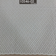 Tecido Laise A1137 Bordada Off White