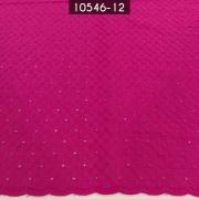 Tecido Laise A1137 Bordada Pink