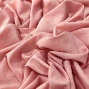 Tecido Linho Alfaiataria 100% Poliéster Rosa
