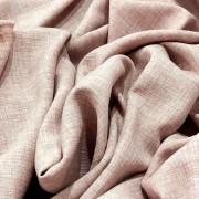 Tecido Linho Alfaiataria 100% Poliéster Rosê