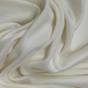 Tecido Moletinho Em Viscose 94%Viscose 6%Elastano Off White