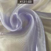 Tecido Organza Cristal 100% Poliéster Lilás