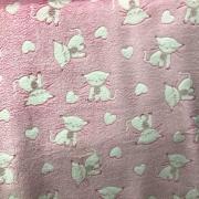 Tecido Plush Manta Estampado Estampa 3