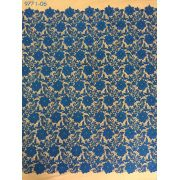 Tecido Renda Guippure Azul