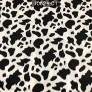 Tecido Soft Estampado Preto/Branco